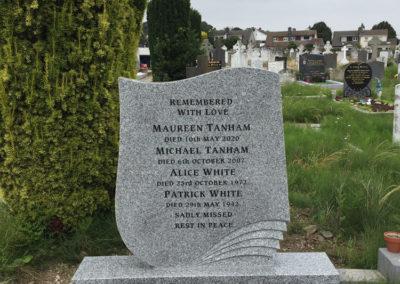 Deansgrange Cemetery Headstones- Memorials (1)