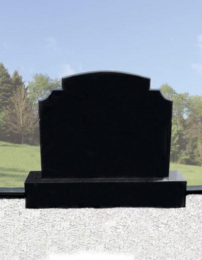 Deansgrange Shanganagh headstone memorials Black-G1-1
