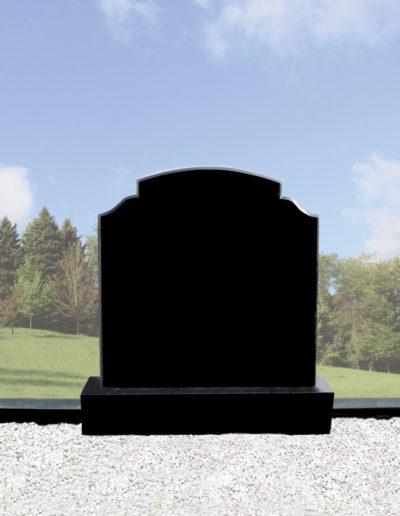 Deansgrange Shanganagh headstone memorials Black-G3-1