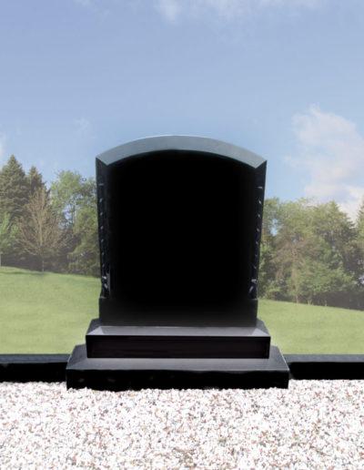 Deansgrange Shanganagh headstone memorials Roped-boulder-1