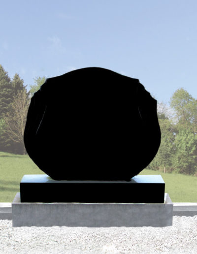 Deansgrange Shanganagh headstone memorials flamed-tulipblack-1