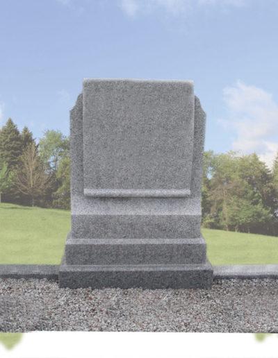 Deansgrange Shanganagh headstone memorials scroll-1