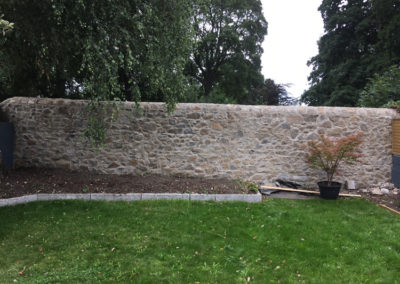 Deansgrange Stone Wall after