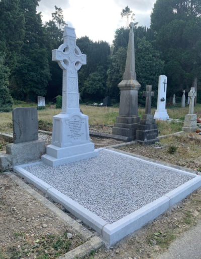 Deansgrange cemetery Before & After 2 (1)