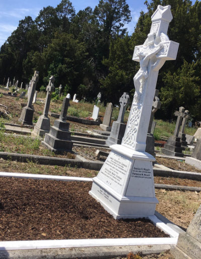 Deansgrange cemetery Before & After 7 (1)