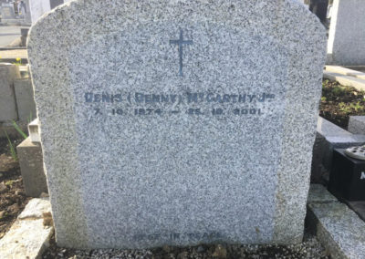 Deansgrange cemetery Inscription-before-7