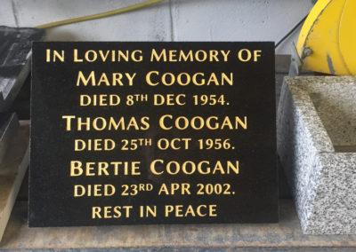 Deansgrange cemetery plaques books vases (10)