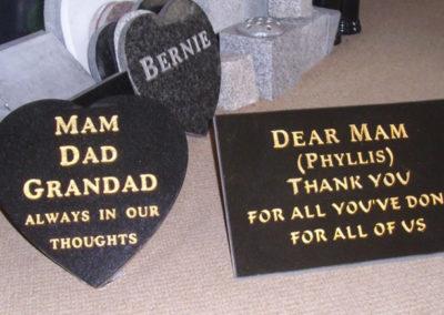 Deansgrange cemetery plaques books vases (13)
