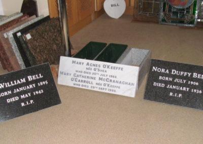 Deansgrange cemetery plaques books vases (2)