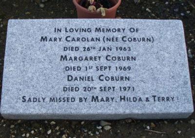 Deansgrange cemetery plaques books vases (22)