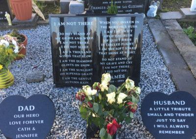 Deansgrange cemetery plaques books vases (25)