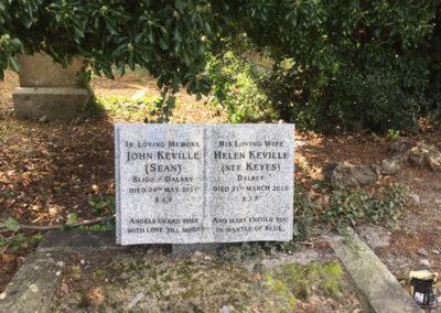 Deansgrange cemetery plaques books vases (28)
