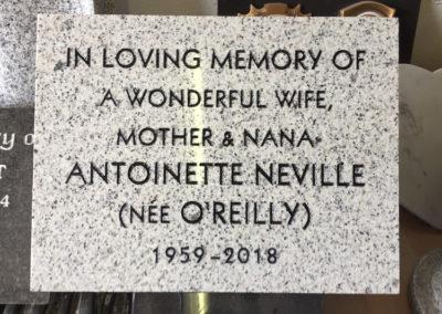 Deansgrange cemetery plaques books vases (41)