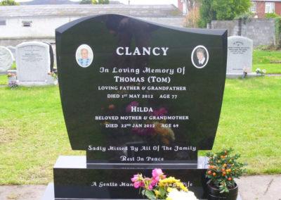 Springfield Cemetery Bray Headstones