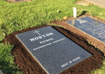 Sutton Cemetery Headstones