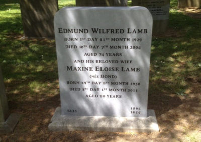Temple Hill Cemetery Headstone